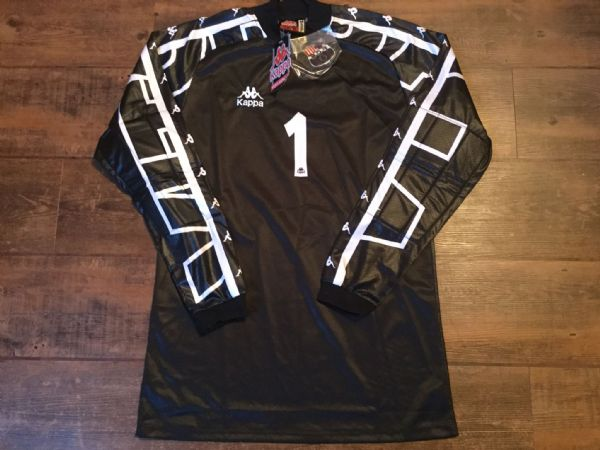 1996 1998 Barcelona BNWT Goalkeeper GK Football Shirt Camiseta Adults Medium